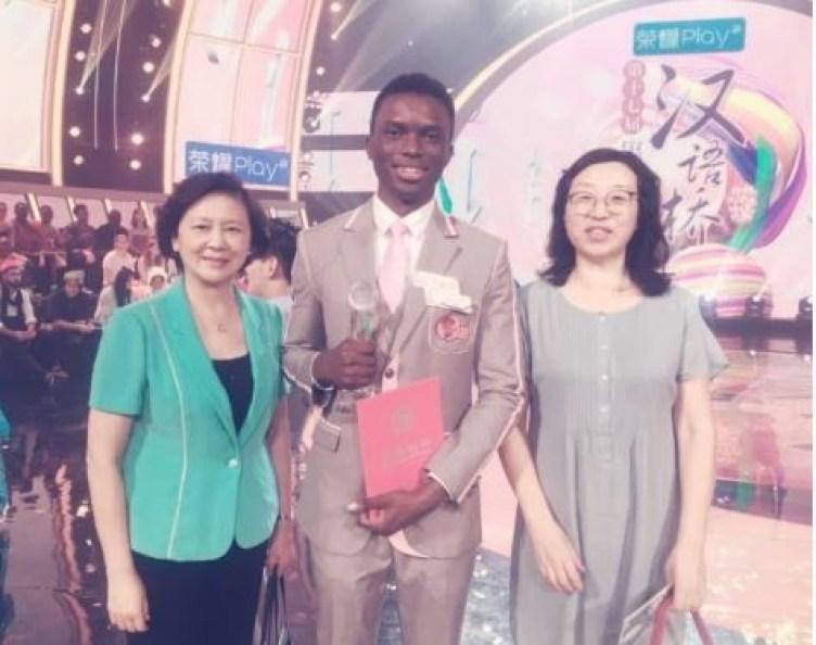 21-year old Nigerian student,?Anthony Ekwensi wins Chinese language contest