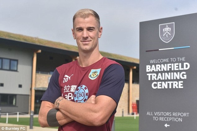 Former England No 1 Joe Hart joins Burnley for ?3.5m from Manchester City after 12-years with the Premier League champions (Photos)