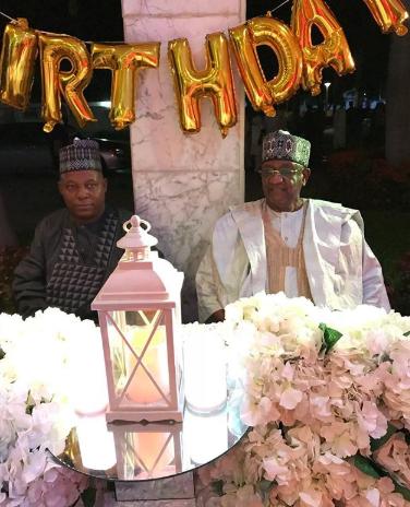 Billionaire businessman Mohammed Indimi celebrates birthday at his mansion in Maiduguri (photos)