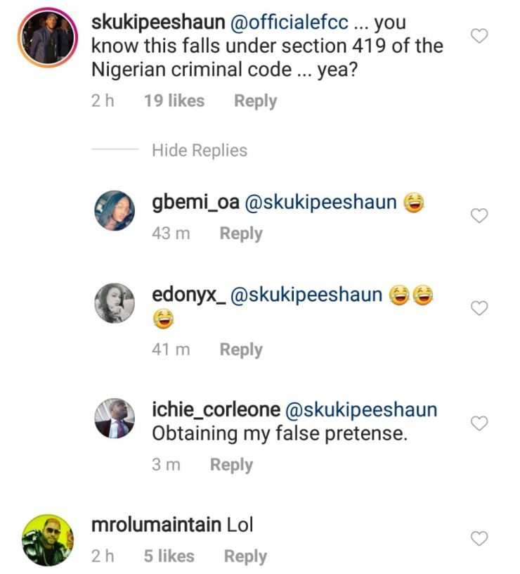 Singer Skukipeeshaun alerts EFCC officials after Abuja pastor, Biodun Fatoyinbo, asked student to sow N500k as seeds. Other celebs react (video)