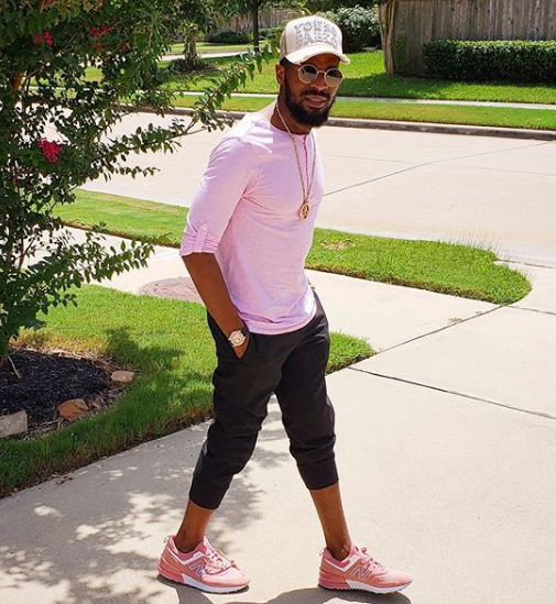 Dbanj shares first photo since losing his son