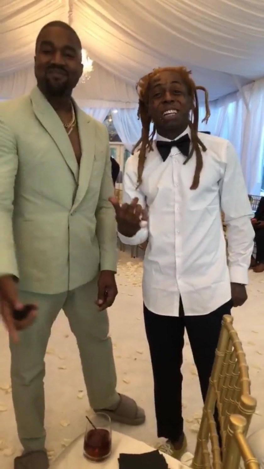 Rapper 2 Chainz marries his longtime girlfriend Kesha Ward in star-studded Miami wedding (Photos)