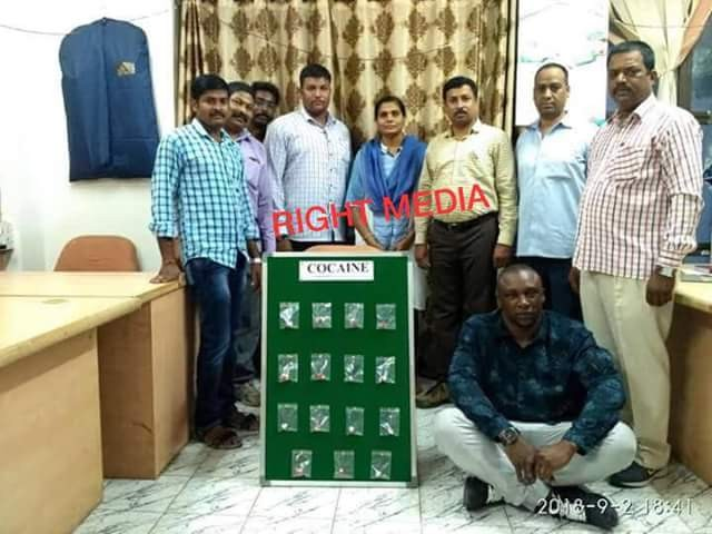 Former President of Nigerian Association in India identified as drug Kingpin who traps and uses African students to sell drugs