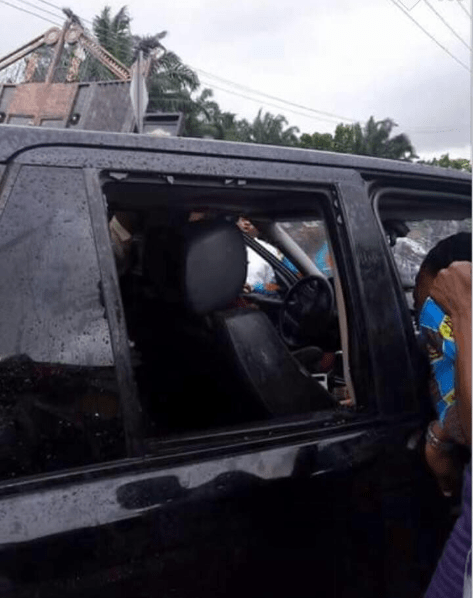 Bullets fail to penetrate pastor after he was shot in Anambra (photos)