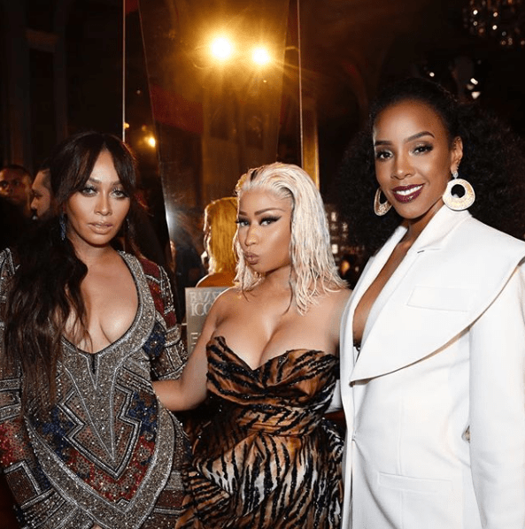 Unbothered Nicki Minaj shares stunning photos of herself after Cardi B tried to attack her at the NFW party?