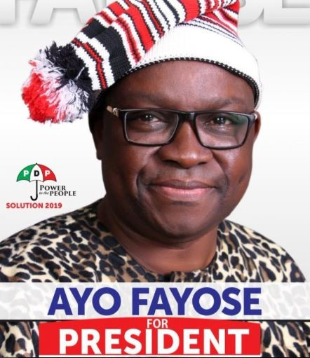 Governor Ayo Fayose backs out of 2019 presidential race