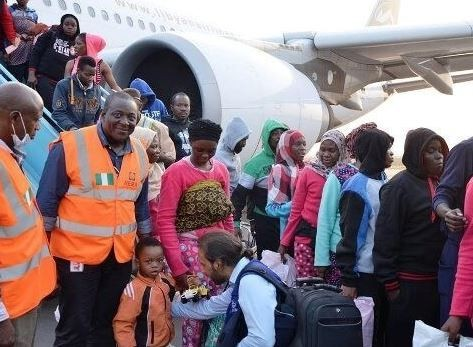 9,822 stranded Nigerians returned home from 10 different countries in the last 18 months - NEMA