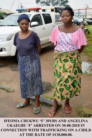 5b9ba0e3d670b - Two Women Arrested For Selling Newborn Baby For N130,000