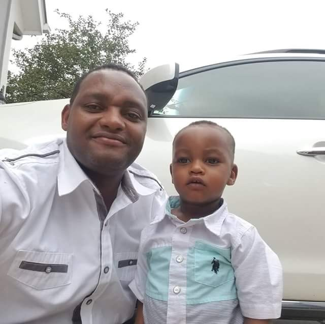 Tragedy as Kenyan man accidentally crushes his 18-months old son to death in the US while reversing car
