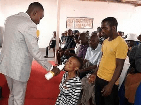 """They were drinking the blood of Jesus"" - Pastor who gave members JIK bleach to drink defends his action"