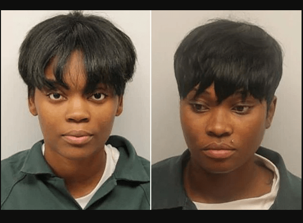 Two young women arrested for selling weed edibles at a Church event (Photos)