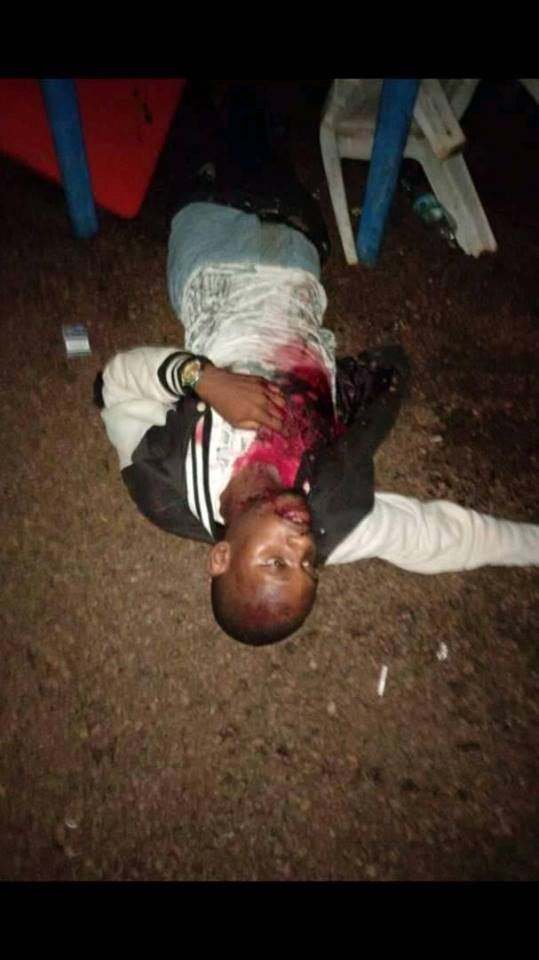 Graphic photos from the scene of the cult clash in Ambrose Alli University Ekpoma where a final year medical student, 9 others were killed