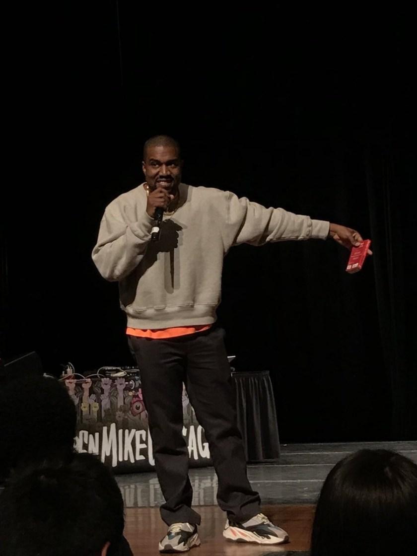 Kanye West says he