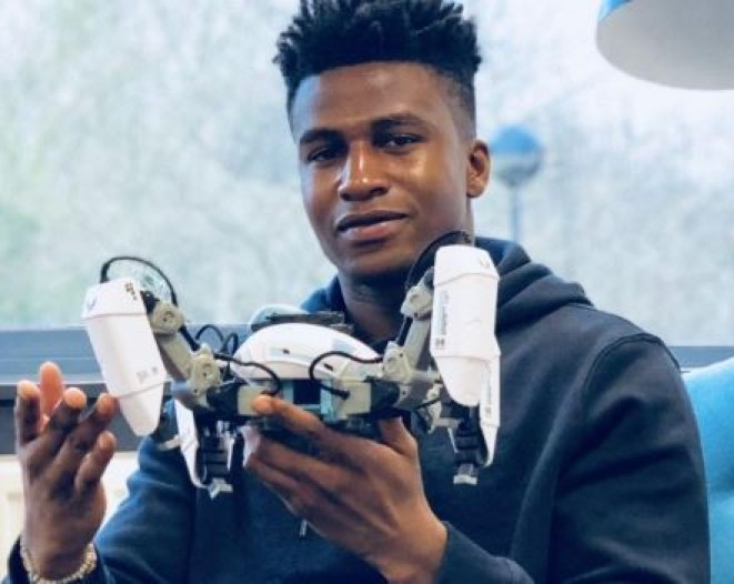 26-year-old Nigerian, Silas Adekunle becomes the highest paid robotics engineer in the world