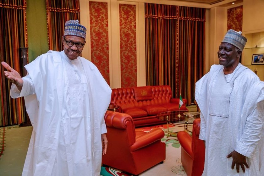 Photos:?President Buhari meets newly appointed DG of DSS, Yusuf Magaji Bichi