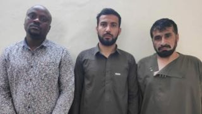 Police bust international drug trafficking syndicate in India, arrest Nigerian man, two Afghan men with 5kg of heroin