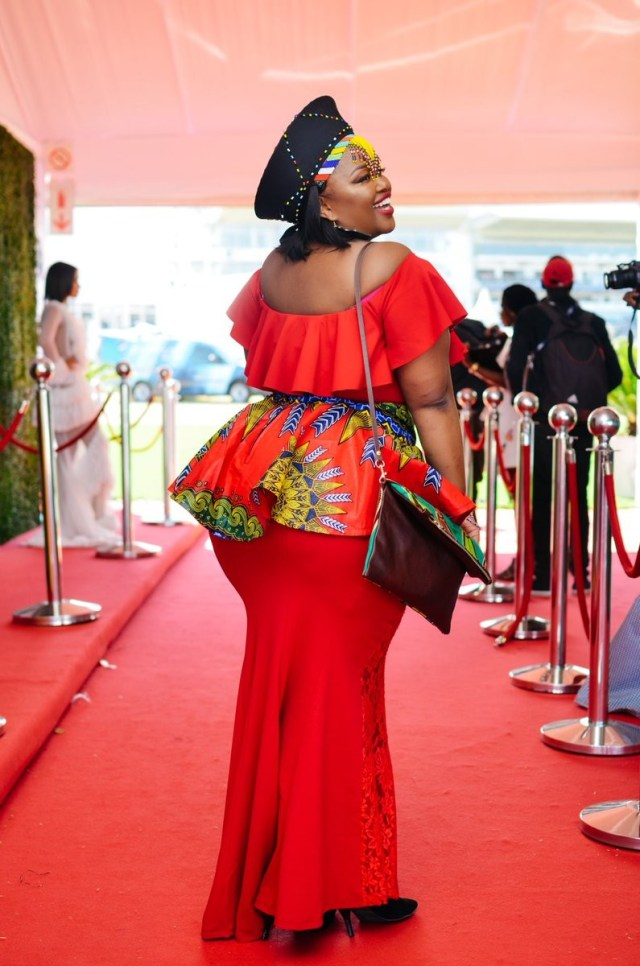 Many South African ladies flaunt their beauty on Zulu Day
