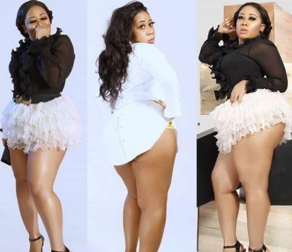 Actress Moyo Lawal shares sexy new photos