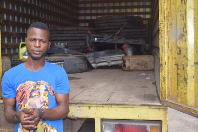 Lagos police arrest 5 trans-border robbery suspects (photos)