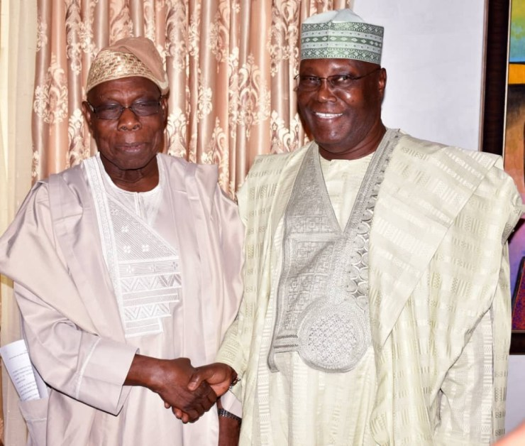 Image result for obasanjo buhari atiku  Fresh: Obasanjo Speaks On Buhari, INEC , Atiku, And The Tribunal 5bbf6e16b471a
