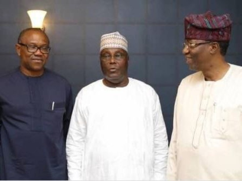 Ben Bruce, others congratulate Peter Obi on his emergence at Atiku