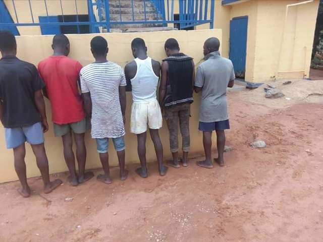 Photos: Notorious armed robbers arrested in Benue State