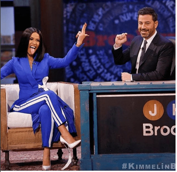 Cardi B shows how hard her work experience was, saying the birth of her vagina broke