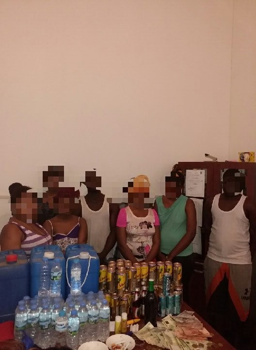 5bcc7be4a4ea8 - Photo: Group of African migrants arrested in Libya for running a brothel