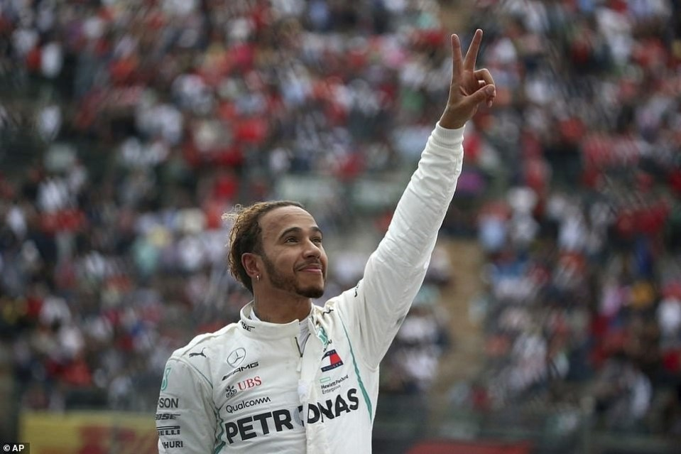 Lewis Hamilton wins his fifth Formula One world title at Mexico Grand Prix, equals Juan Manuel Fangio record