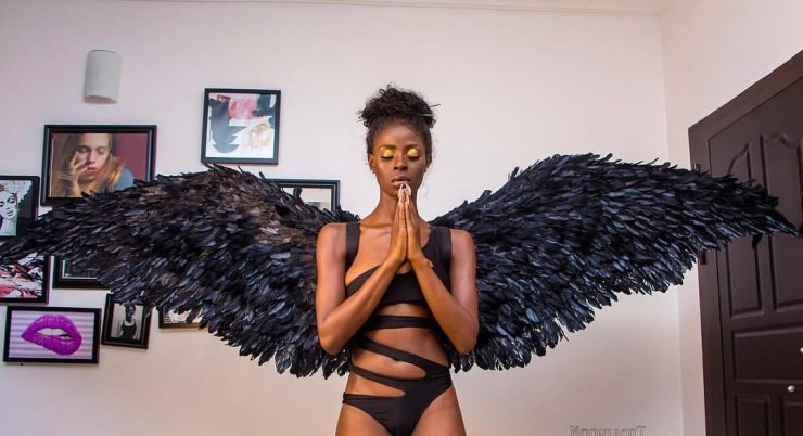 5bdf0c45af2ef - BBNaija's Khloe shows off her butt in sexy new photos
