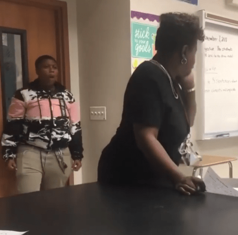 Heartbreaking video shows student hitting a teacher who