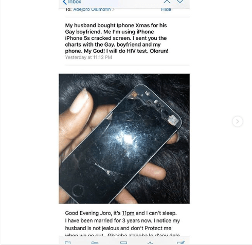 Nigerian woman cries out after finding out her husband of 3-years is gay, exposes his chat messages with the lover. (Screenshots)