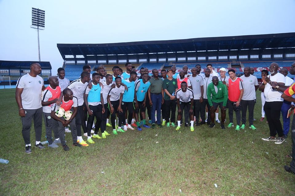 AFCON 2019:  Governor, Ifeanyi Okowa promises Super Eagles $25,000 for each goal scored against South Africa