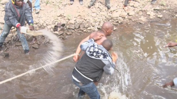 Police rescue 35-year-old man in tears as his friends attempt to forcefully circumcise him in Kenya (Photos)