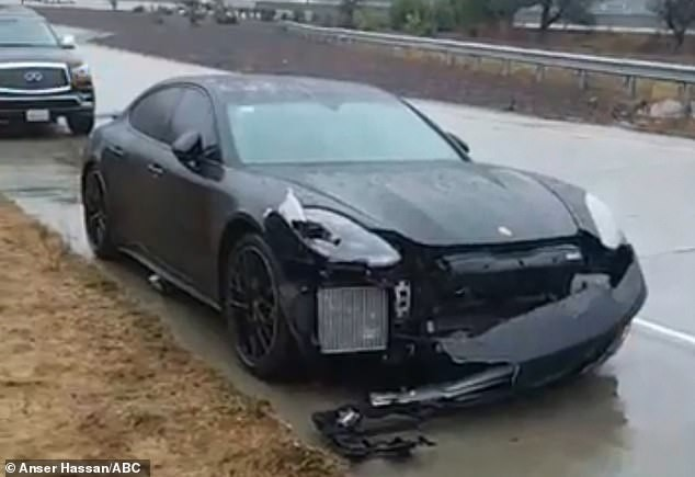 NBA star Steph Curry walks away from back-to-back car accidents in approximately 15 minutes (Photos)