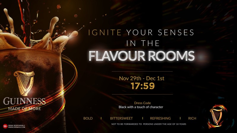 Ignite your senses with an extraordinary experience at the Guinness