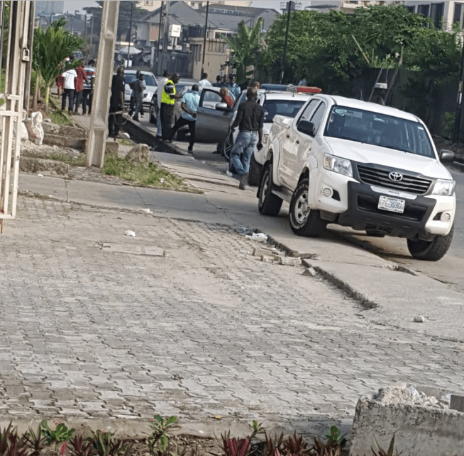 Man found cut open by suspected ritualists and abandoned in his car in Lekki Pase 1