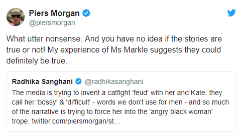"""Meghan Markle is a """"self-obsessed social climber who"""