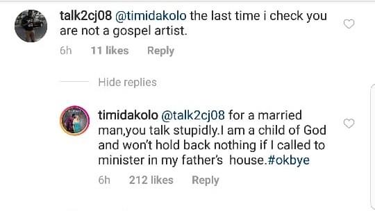 Timi Dakolo slams filmmaker who questioned why he