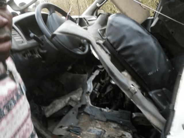 Worshippers involved in ghastly accident while returning from Shiloh (photos)