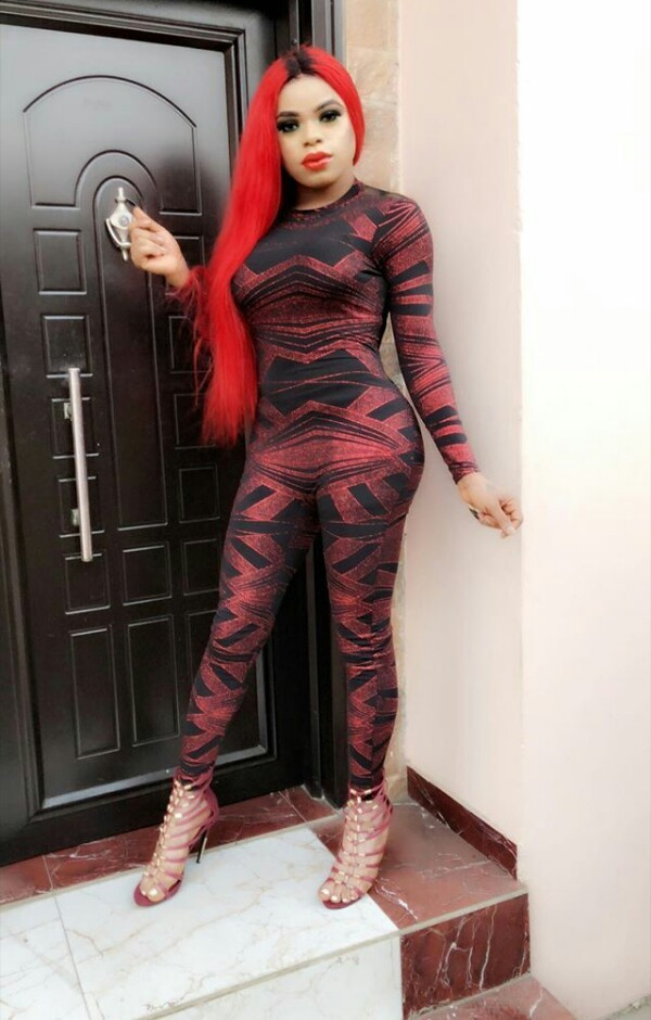 Bobrisky shows off his growing curves in new photos