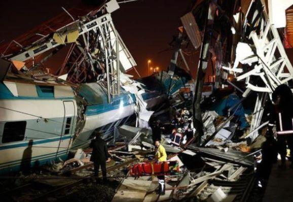 High speed train collision in Turkey kills 4, injures 43 people