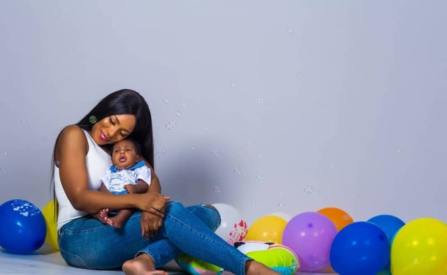 Breathtaking photos of Linda Ikeji and her son, Jayce