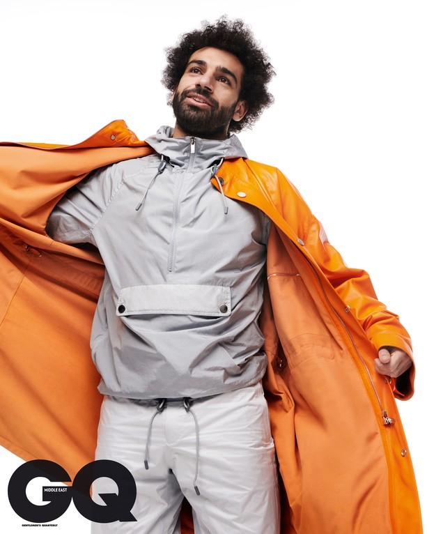 [Photos]African best footballer Mohamed Salah covers GQ Magazine