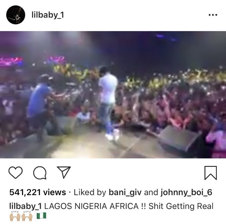 African Americans make derogatory comments about Nigerians after US rapper Lil Baby