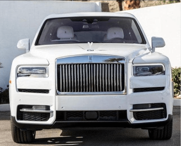 ?Davido shows off new Rolls Royce he just bought for himself