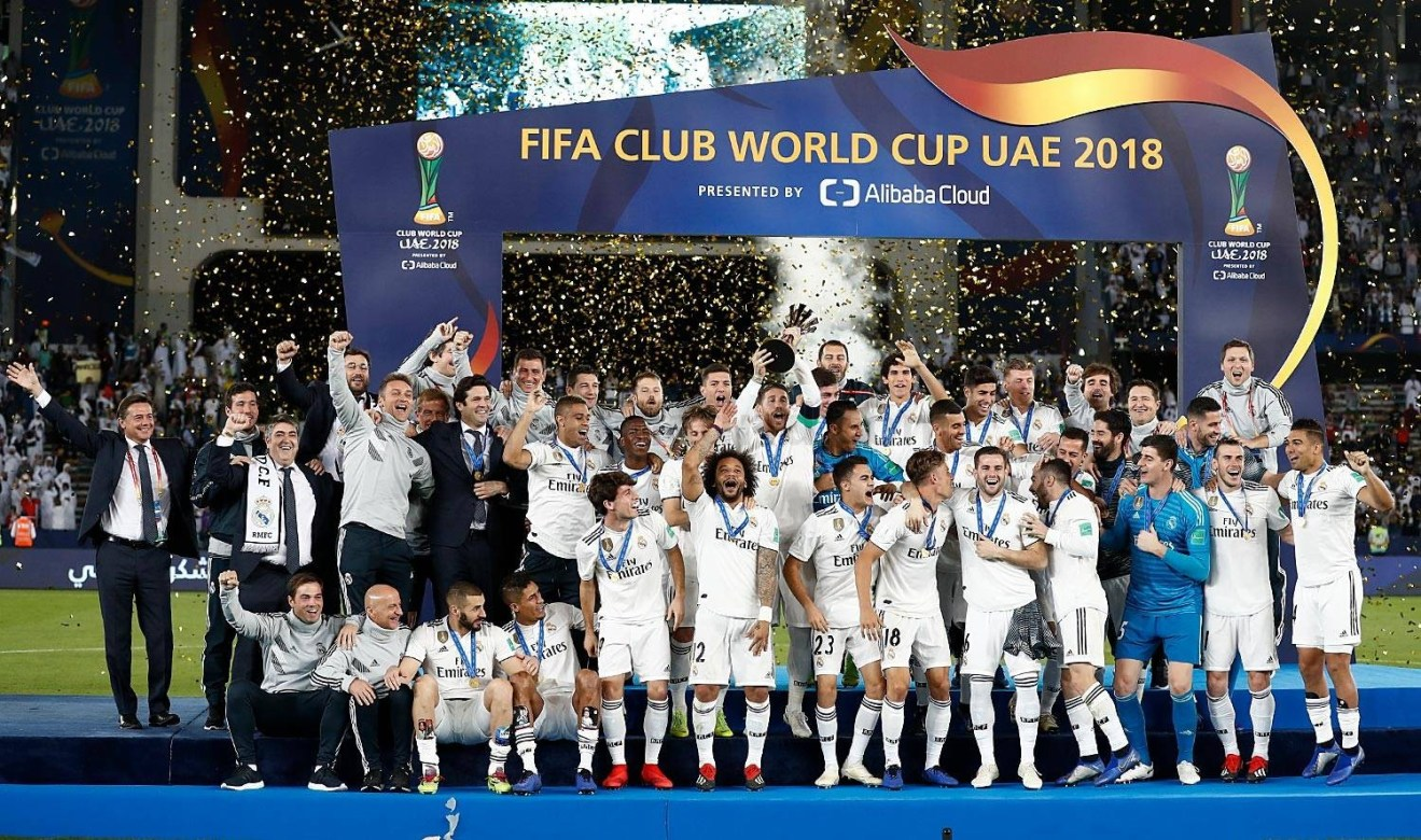 [Photos]Real Madrid wins Club World Cup for the third year in a row