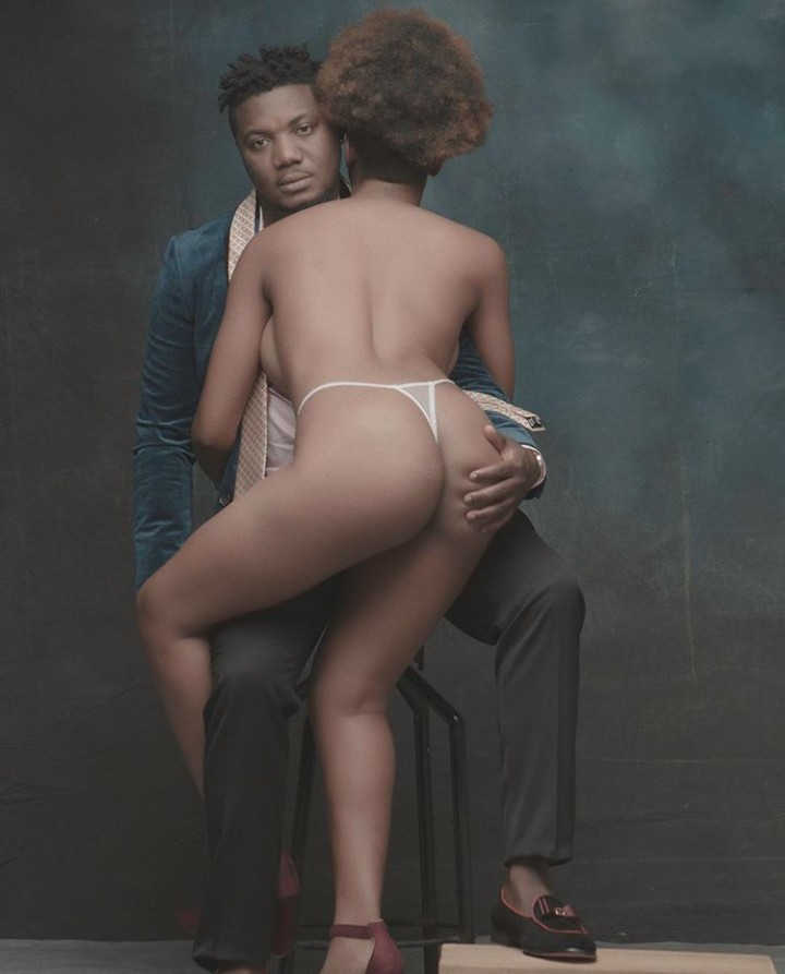 CDQ wishes his followers a merry Christmas with photo of a nearly naked woman