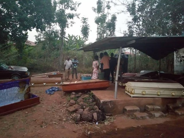 50 bodies burnt beyond recognition as fire razes morgue in Anambra (photos)