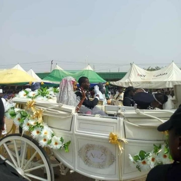 Photos from the wedding fatiha of Emir of Kano